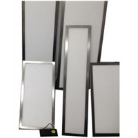 LED Panel Lights stainless steel frame dust-proof surface mount IP40