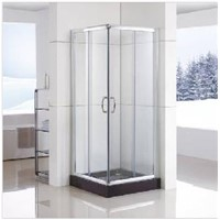 Pivot Shower Door (WS-C090) with Double-Side Easy Clean Nano Coating