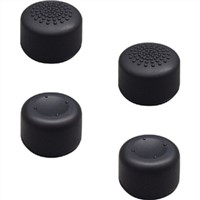 4x concave & convex silicone XL tall thumb grip stick caps for PS4