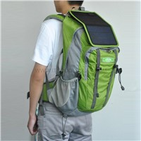 Back Bag with Solar Panel Mobile Charger JS-M015
