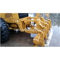 second hand 140h MOTOR grader with hydraulic engine used CAT 140K motor grader for sale