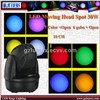 LED moving head  light 30w DMX512 signal, Built-in programs, Master/Slave, Auto