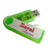 Plastic usb flash memory ,Swivel USB 16GB Storage Flash Disk, Made of Plastic, Data Pre-load Service