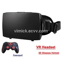 3D Virtual Reality Glasses for smartphone 3D movie/game