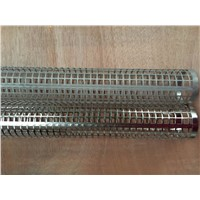 Zhi Yi Da Straight Seam Perforated Metal Welded Tubes Filter Frame Filter Element
