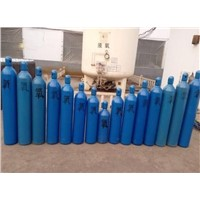 different capacity steel oxygen cylinder
