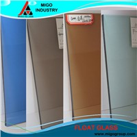 3-19mm Clear and Colored High Quality Float Glass for Building