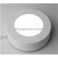6W aluminum round led ceiling panel light/led surface panel light AC85-265V