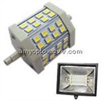 LED R7S 5W Cool White Lamp-Retro fit for halogen lamp SMD5050