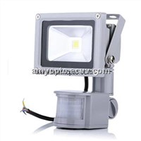Outdoor 10W LED Floodlights with PIR