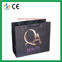 Large paper shopping bags,paper bags with your own logo