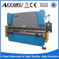 CNC control hydraulic press brake for metal