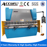 Advanced hydraulic metal plates cnc aluminium press brake with CE certificate