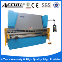 Hydraulic Press Brake WC67Y-600T/3200 Press Brake Machine 200 tons