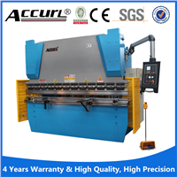 MB8 series stainless steel plate bending machine, NC press brake