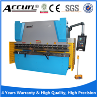 hydraulic steel plate WC67K-400TON/9000 steel press machine