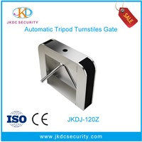 Discount CE Approved waist high tripod turnstile,stainless steel turnstile