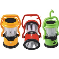 JA-1972 multi-functional solar led camping lantern with cellphone charger