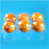Plastic Transparent Thermoformed Orange Fruit packing tray