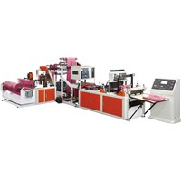Shoe bag making machine