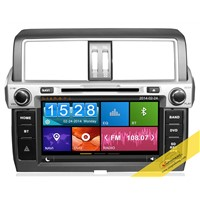 8 inch Capacitive touch screen TOYOTA Prado 2014 with 3G/Wifi, 1080P Video, DVR fucntion