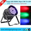 New Arrived !RGBW LED Par Lights 18pcs*10W Quad LED Disco Light