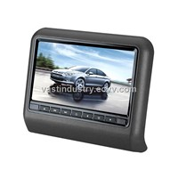 "9"" car headrest monitor with 800x480 resolution (HY-975AV)"