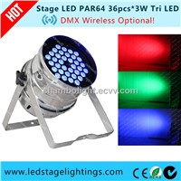 ROHS approved LED Stage PAR CAN 120W RGB LED Stage lightings