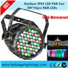 IP65 Stage LED PAR 3W*54pcs RGBW LED Disco lighting