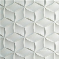 3D stone interior feature wall covering panels