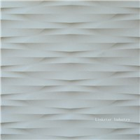 3d interior feature stone wall paneling surface