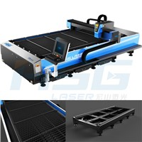 500W new design metal fiber laser cutting machine