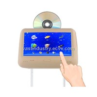 9inch touch screen headrest  dvd player with HDMI/ USB/SD/MP5/Wireless game(HY-966D)