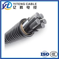 ACWU90 aluminum alloy inter-locked armour power cable