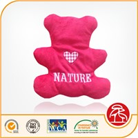Bear Shape Therapeutic Hot Cold Stress and Neck Pain Pillow Cherry Pit Pillow