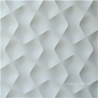 Beige stone 3d feature wall art panel