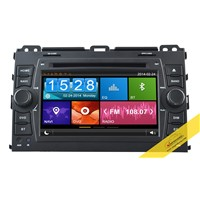 Capacitive Touch Screen Car DVD Player for TOYOTA Prado with 3G/WIFI/DVR/Mirror Link Function