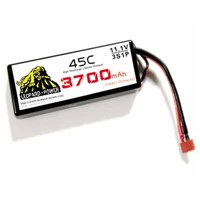 Leopard Power high rate Lipo battery for rc helicopter 3700mah-3S-45C