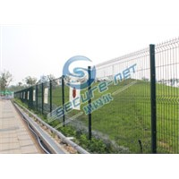 Manufacture welded wire mesh fence on sale