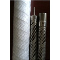 Wire Wound Filter Element Perforated Tube For Condensed Water In Power Plant