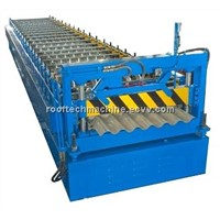 YX19-75-825 Corrugated Sheet Forming Machine   corrugated roof panel machine roll forming machine