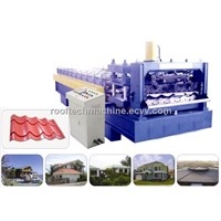 YX38-840 step tile forming machine  roll forming machine