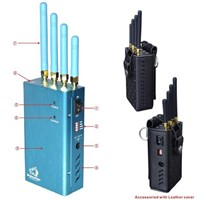 Full-Function Handheld GPS tracking system Jammer