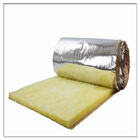 heat Insulation building material Glass wool blanket