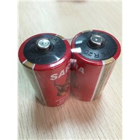 high quality R20 size 1.5V battery