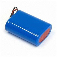 High Power 18500 1400MAH 7.4V Rechargeable Lithium Ion Battery Pack