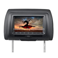 "7"" Car HD Headrest DVD player with Zipper Cover and built in speakers (HY-745HD)"