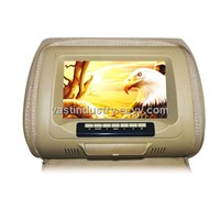 "7""Car Headrest Monitor player with zipper cover(HY-755AV)"