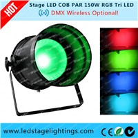 Hot sale 150W COB LED PAR RGB Long Hosing,China professional stage lights