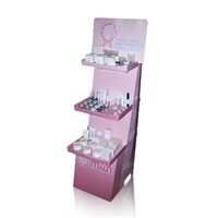 Proffessional Cardboard Display Stand for Cosmetics